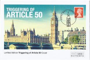 Limited Edition Westminster Triggering of Article 50