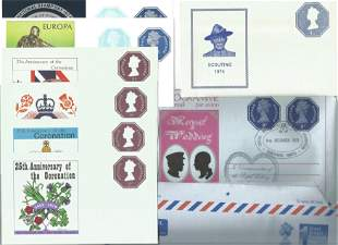 Air Mail Collection, Includes 2 x 1st Postage Paid Air