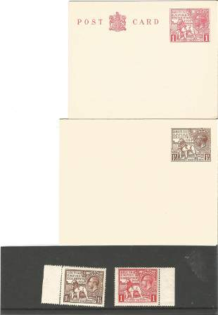 GB mint Stamps 2 King Edward VII British Empire