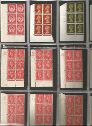 GB mint Stamps Edward VIII, George VI and Elizabeth II,
