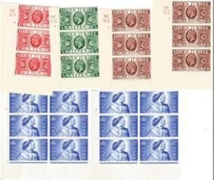 GB mint Stamps Edward VII & George VI, Includes 2 x