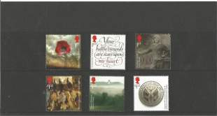 GB mint Stamps £7+ face value 3 x 1st, 3 x £1.52,