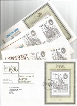 1980 International Stamp Exhibition Collection,