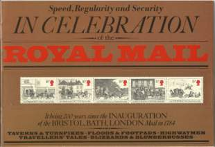 Royal Mail Commemorative Souvenir Presentation Book,