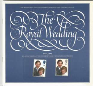 Royal Wedding Commemorative Souvenir Presentation Book