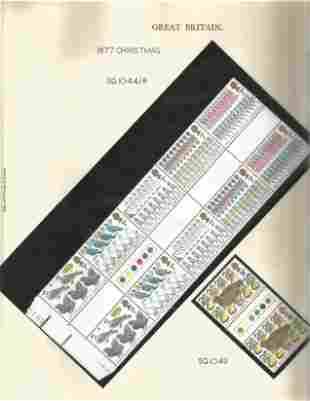 GB Mint Stamps Printing, Government & The Twelve Days