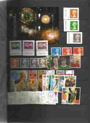 GB Stamps used WH Smiths Album containing 24 Hardback