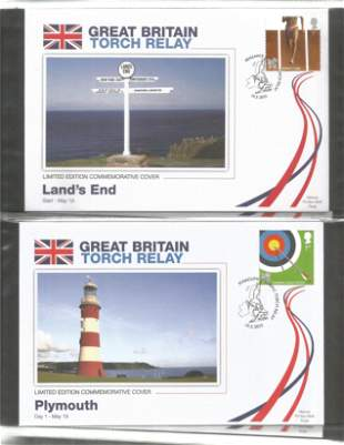 Olympic Games Commemorative Covers, 61 Limited Edition
