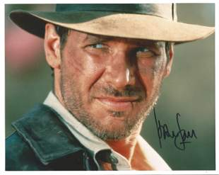 Harrison Ford signed 10x8 colour photo pictured in his