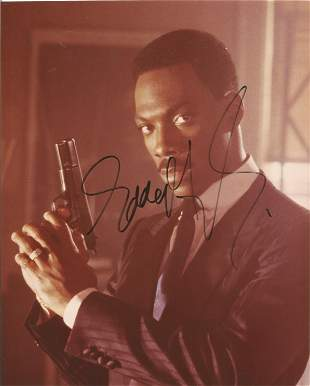 Eddie Murphy signed 10x8 colour photo pictured in his