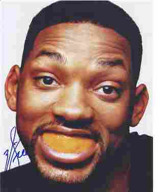 Will Smith signed 10x8 colour photo. Good Condition.