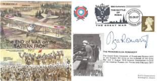 Prince Olga Romanoff signed Great War 40 The End of War