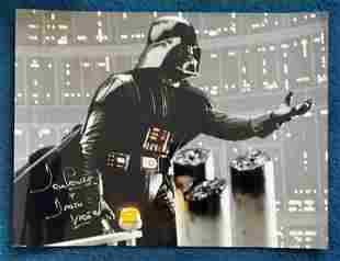 Star Wars Dave Prowse signed 16 x 20 inch colour Star