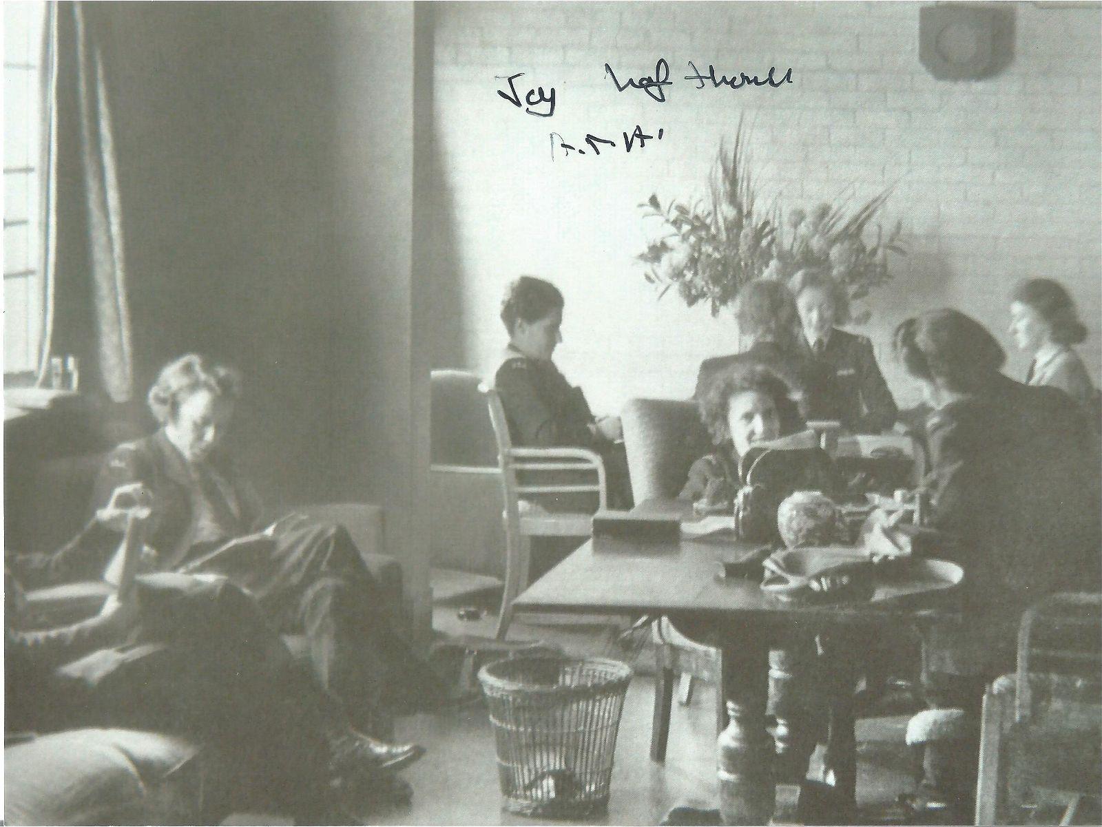 WW2 rare Female ATA Spitfire pilot Joy Lofthouse signed