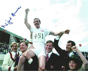 Chariots of Fire Nigel Havers signed 10 x 8 inch colour