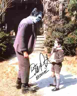 The Munsters 8x10 photo signed by Butch Patrick who