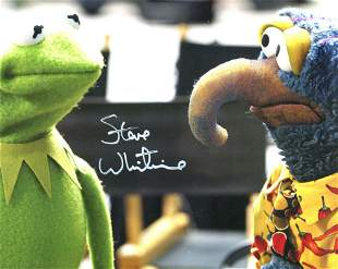 The Muppets, 8x10 photo signed by the voice of Kermit