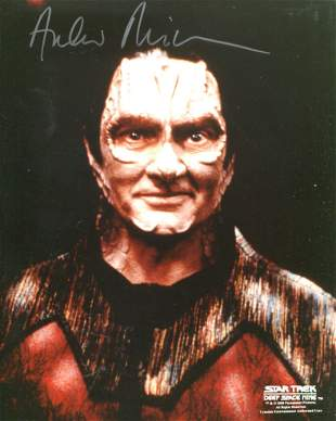 Star Trek Deep Space Nine 8x10 photo signed by actor
