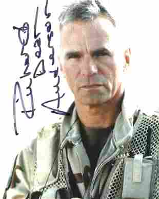 Stargate SG 1 8x10 photo signed by actor Richard Dean