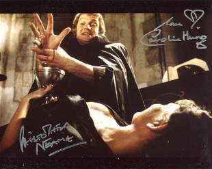Dracula AD72 horror movie 8x10 photo signed by Caroline
