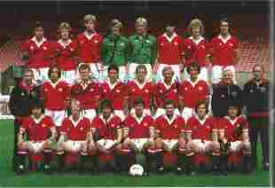 Football Autographed Man United 12 X 8 Photo Col,