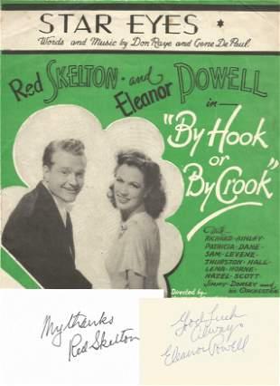 Red Skelton (1913 1997) & Eleanor Powell (1912 1982)