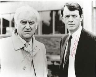 John Thaw (1942 2002) & Kevin Whately Signed Inspector