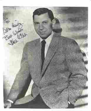 Jack Webb (1920 1982) Actor Signed Dragnet 8x10 Photo.