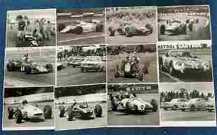 Motor Racing 12 Rare 8x10 UNSIGNED Photographs Inc.