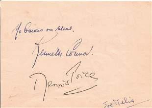 Kenneth Connor, Michael Robbins, Dennis Price & Joe