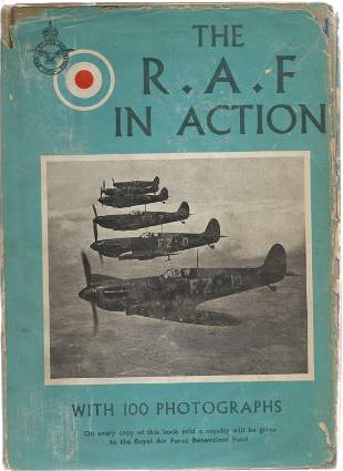 Adam and Charles Black The RAF in Action. A WW2 First