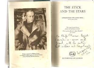 Commander William King DSO, DSC signed The Sticks and