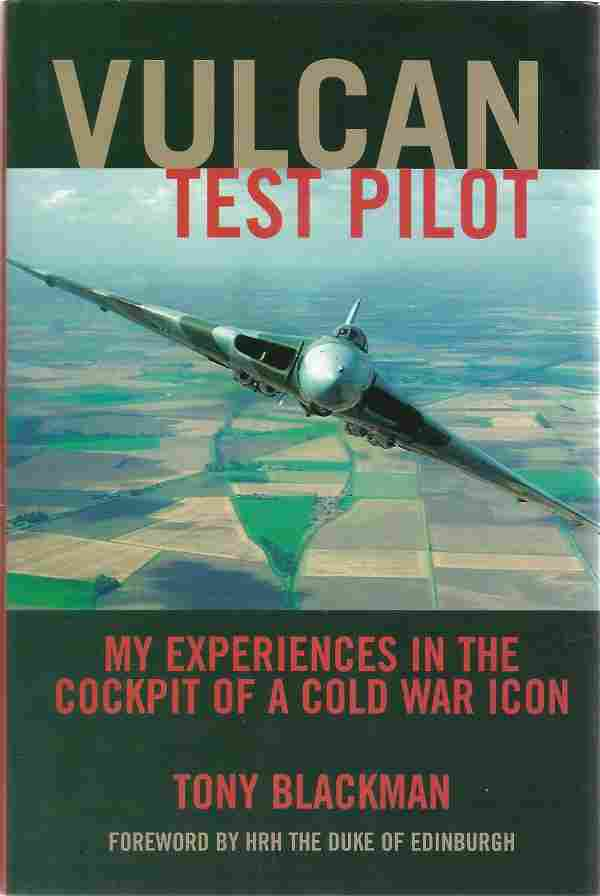 Test Pilots multiple signed book Vulcan Test Pilot