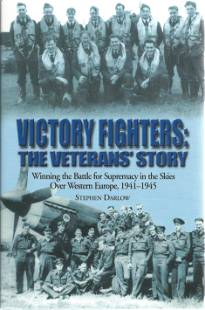 WW2 10 fighter pilots and the Author signed book