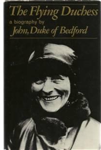 John, Duke Of Bedford signed book The Flying Duchess, a