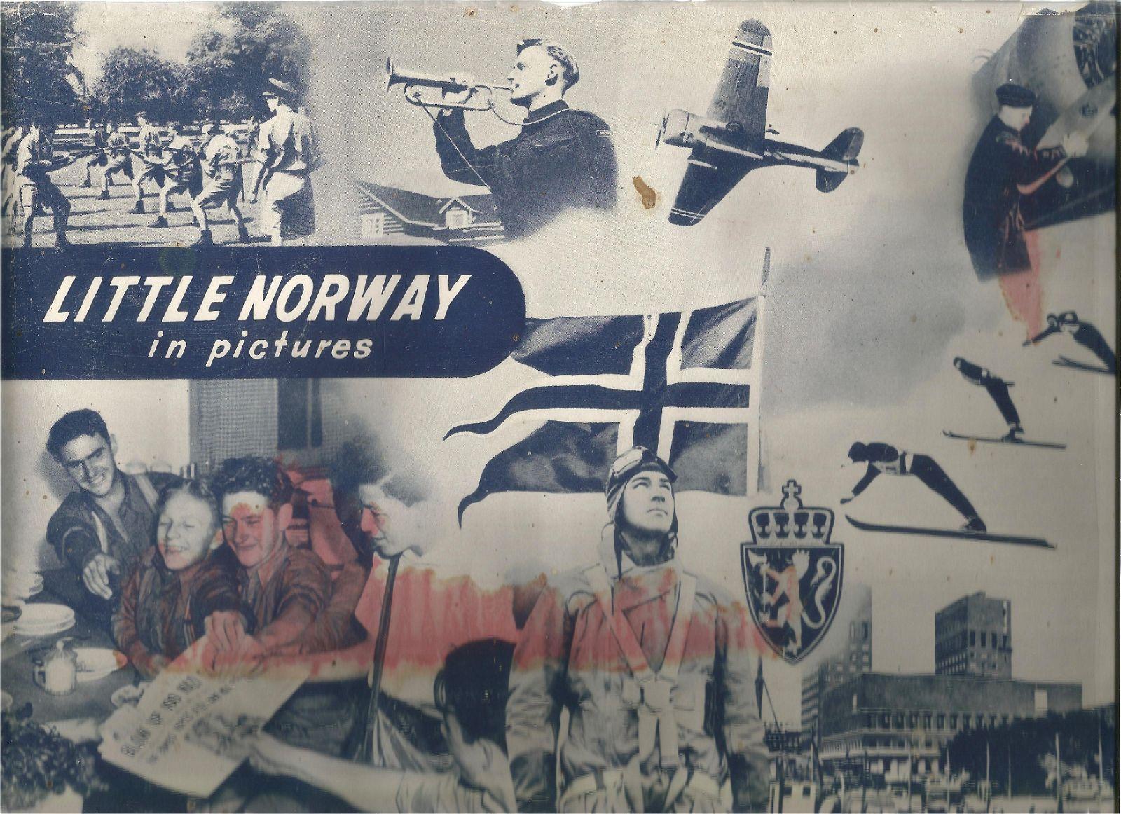 S.J Reginald Saunders. Little Norway in Pictures. A WW2