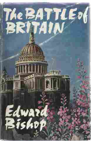 Edward Bishop The Battle of Britain multiple signed WW2