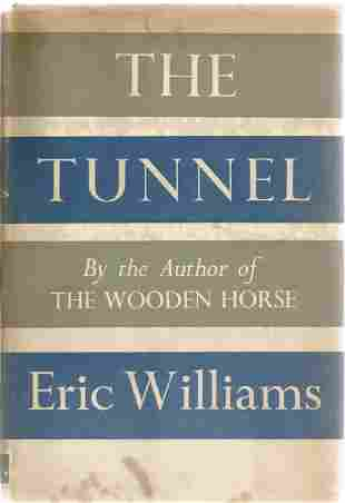 Wooden Horse escaper Eric Williams signed The Tunnel. A