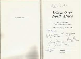 Air Vice-Marshal Tony Dudgeon. Wings Over North Africa.