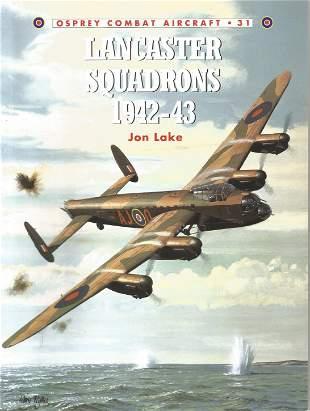 Jon Lake. Lancaster Squadrons 1942-43. A WW2 Paperback