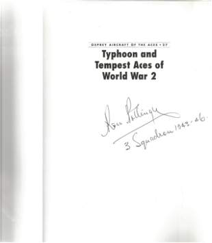 Chris Thomas. Typhoon and Tempest Aces of World War 2.