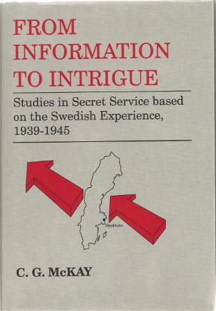 C G McKay. From Information To Intrigue. -Studies in