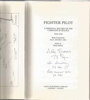 Wing Commander Paul Richey DFC. Fighter Pilot. A WW2