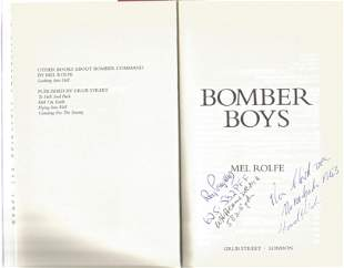 Mel Rolfe. Bomber Boys.- Aircrew Experiences of the War