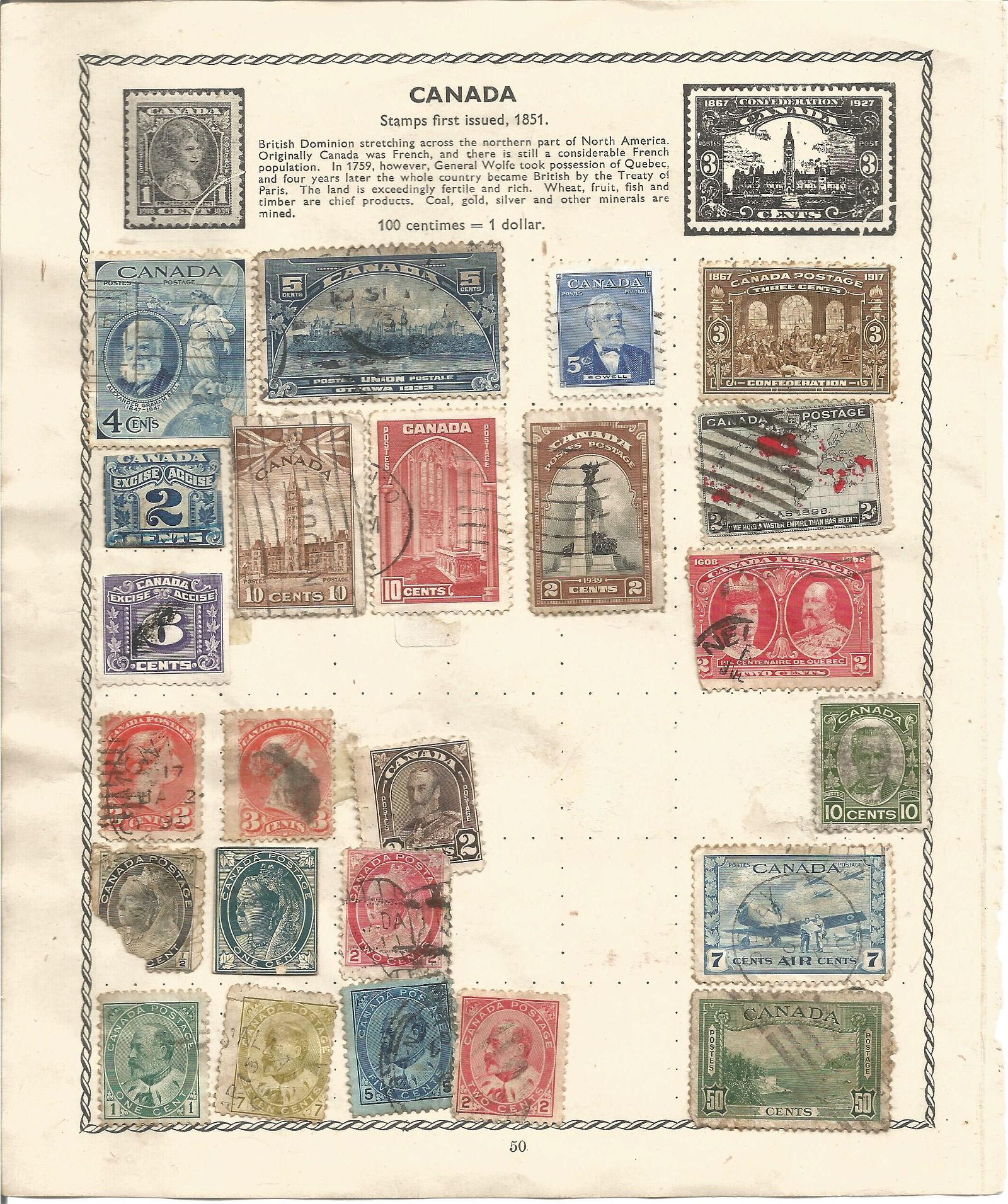 Worldwide used & Mint Stamps from Great Britain,