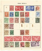 Worldwide used & unused Stamps, The Stirling Postage