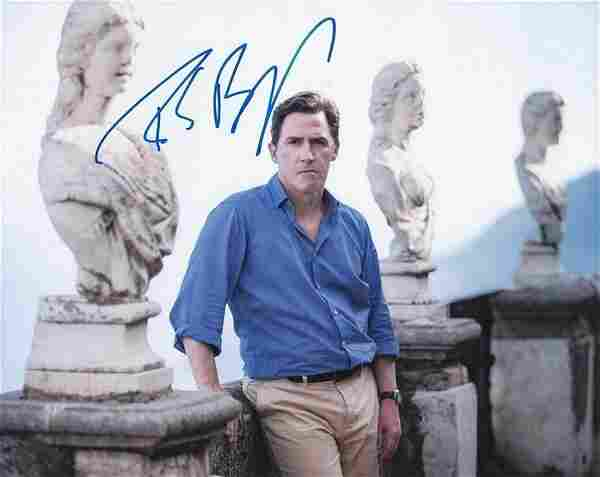 Actor/Comedian Rob Brydon 8x10 Coloured Photo Signed