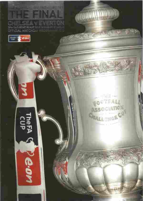 FA Cup football programme FA Cup Final 2009 Chelsea v