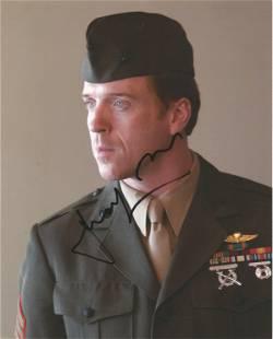 Damien Lewis signed 10 x 8 inch colour photo in uniform