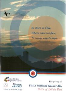 The Poetry of Flight Lt William Walker AE, a battle of
